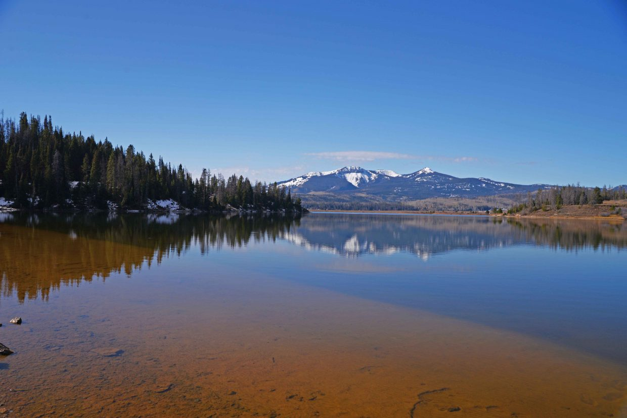 Mountains over Steamboat Lake. Submitted by: Thomas Pannke