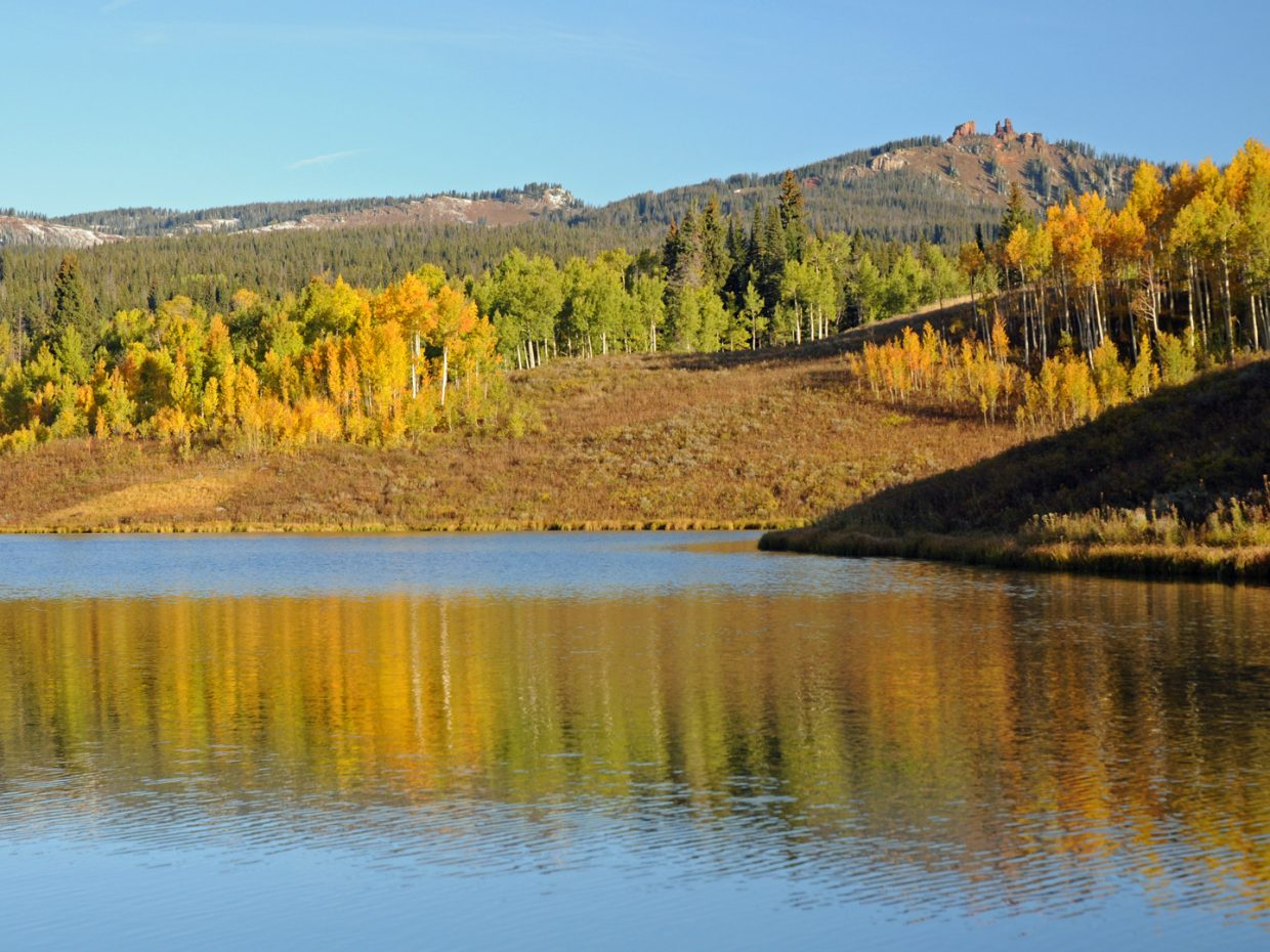 Muddy Pass Lake, Rabbit Ears. Submitted by: Jeff Hall