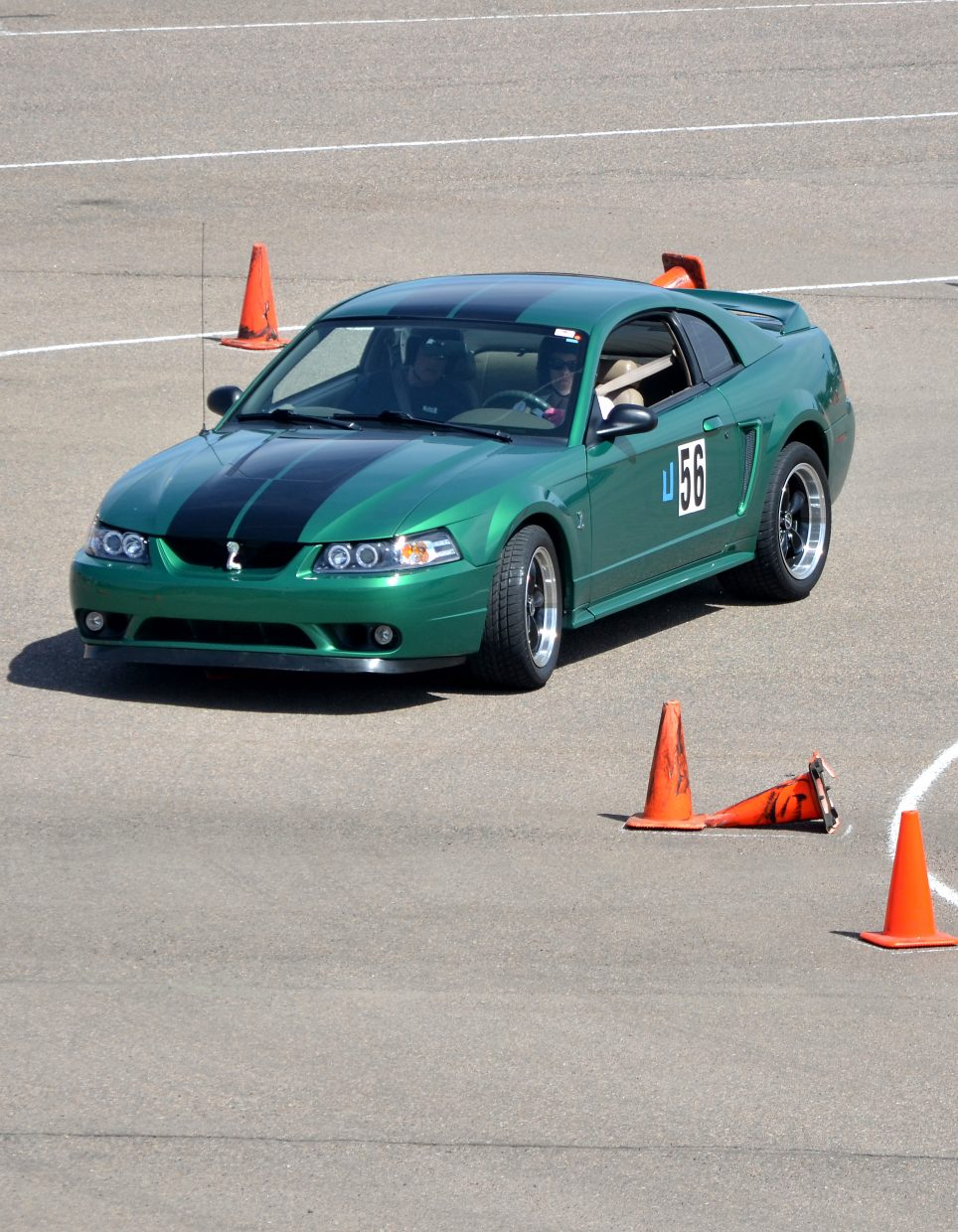 Amy Hosterman's stock 1999 SVT Cobra was one of just 2,400 made, including a hand-built motor.