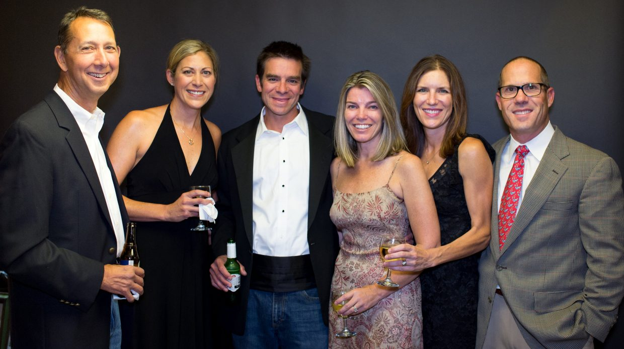 Dr. William Baker, Jennifer Baker, Todd and Tiffany Moore and Deidra and Dave Peppin
