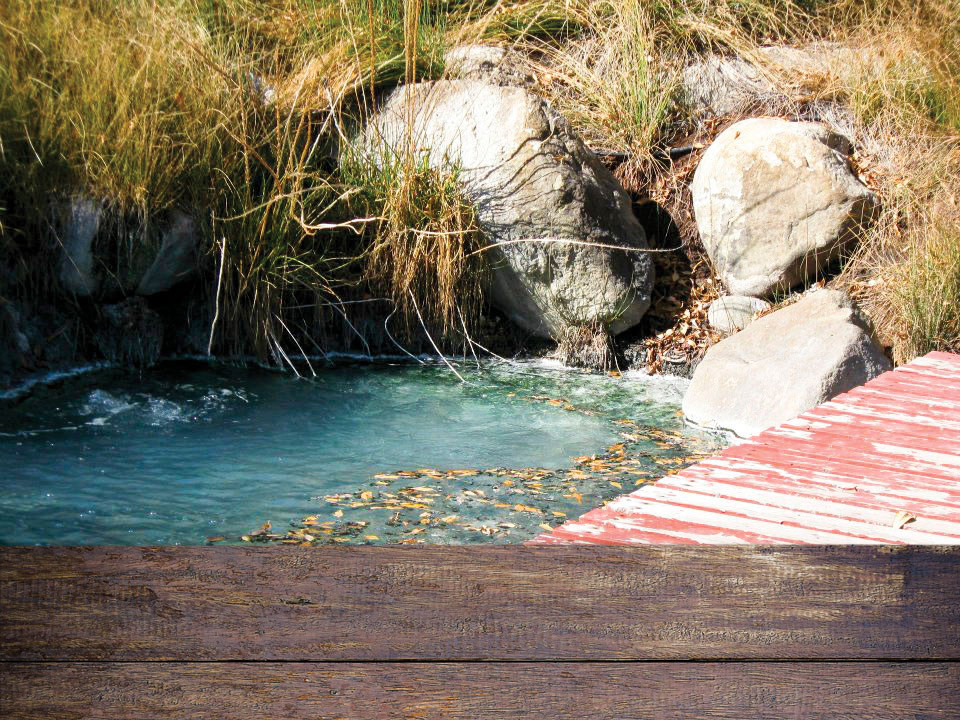 Different mineral springs are located near Bud Werner Memorial Library in Steamboat Springs.