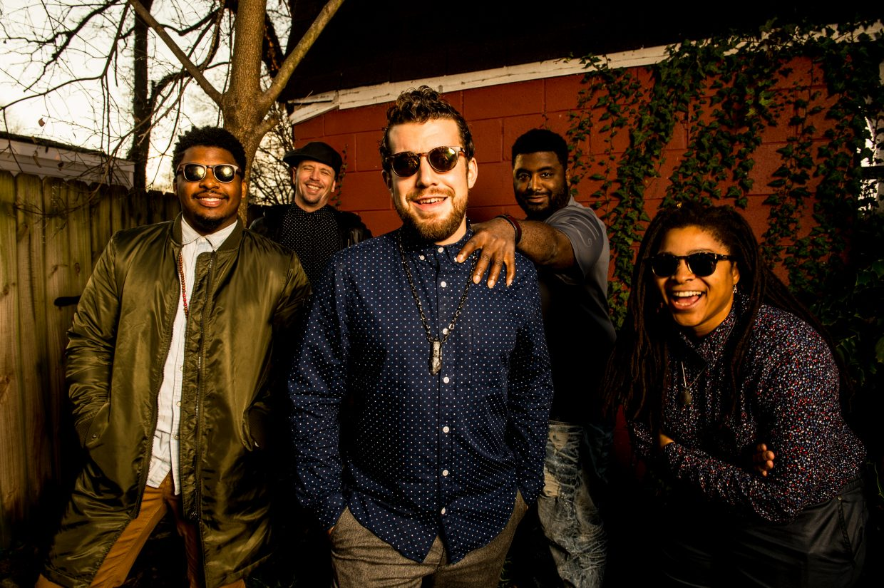 This quintet is led by female powerhouse Nikki Glaspie, who appeared on Beyonce's world tour as the drummer for five years before joining Dumpstaphunk. She shares the stage with fellow members Nate Edgar, the bassist from Groovechild and John Brown's Body; Nick Cassarino, singer and guitarist from the Jennifer Hartswick Band, who has also toured with Big Daddy Kane; Weedie Braimah, the group's West African master-percussionist; and newest member Courtney J'Mell Smith, on vocals and keyboard.