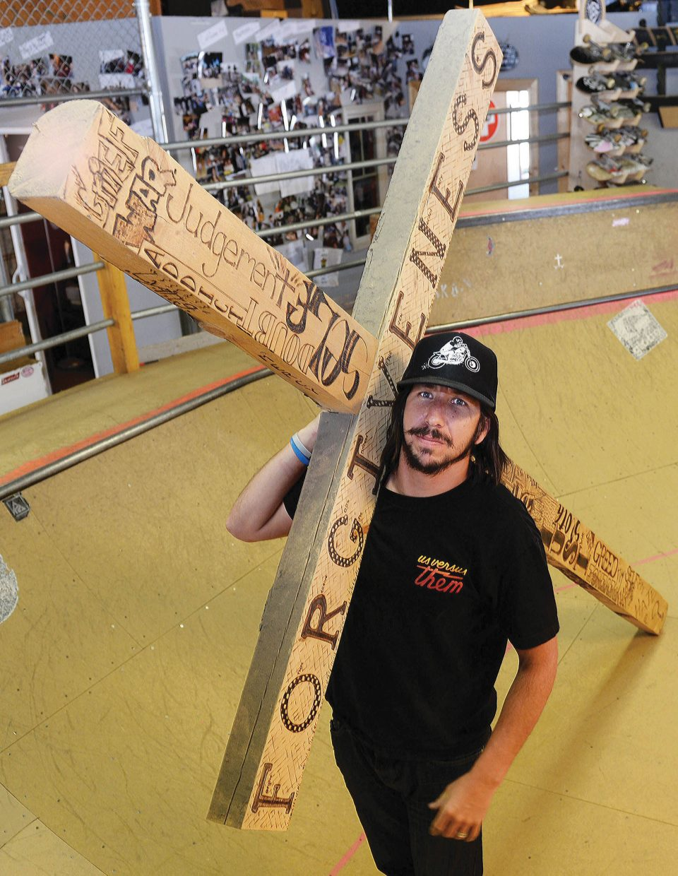 Pastor Buck Chavarria understands the problems that come along with substance abuse. He hopes that the Christ for Life Sk8 Church in Steamboat Springs can offer those touched by opiate addiction a place to find help, support and understanding.