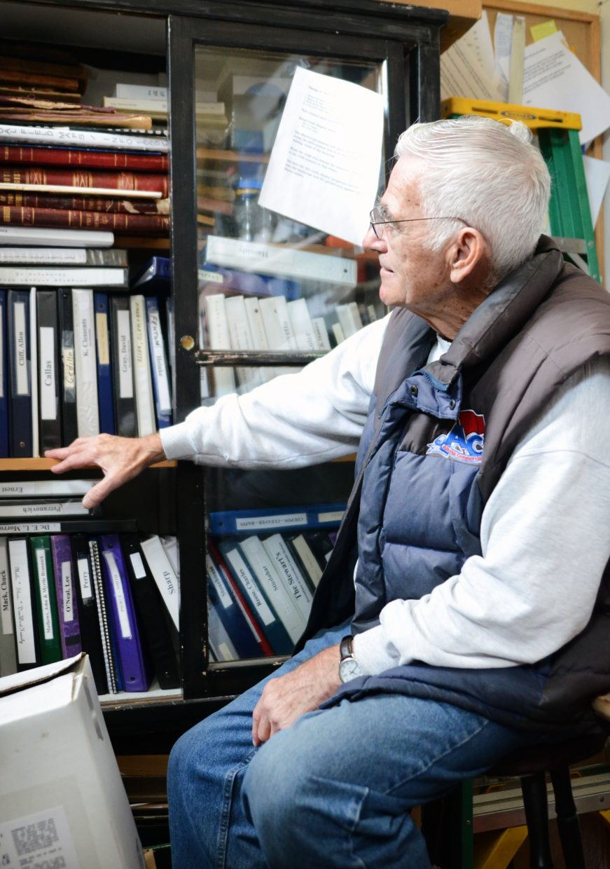 It's not much bigger than a standard walk-in closet, but the room at Tracks & Trails Museum houses hundreds of binders and thousands of memories relating to Oak Creek's history. Mike Yurich dreams of one day having a permanent research center to replace his cluttered collection.
