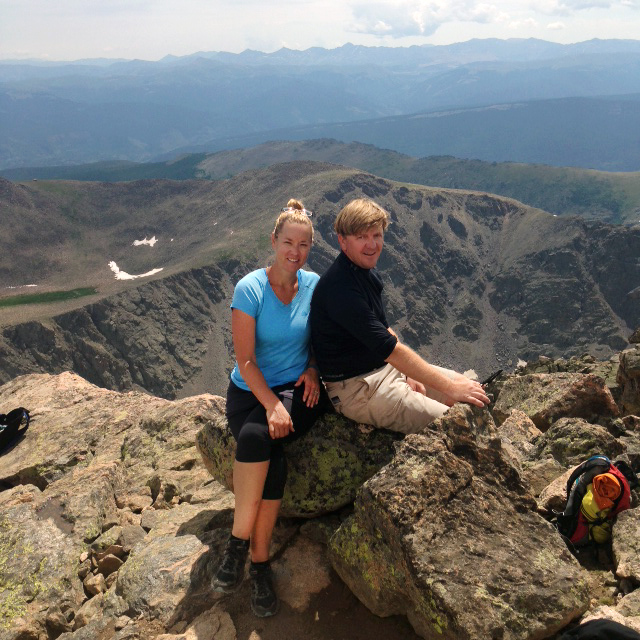 Doreen Young and her husband, Todd, conquered Mount of the Holy Cross as their first 14er. The couple instantly was hooked.