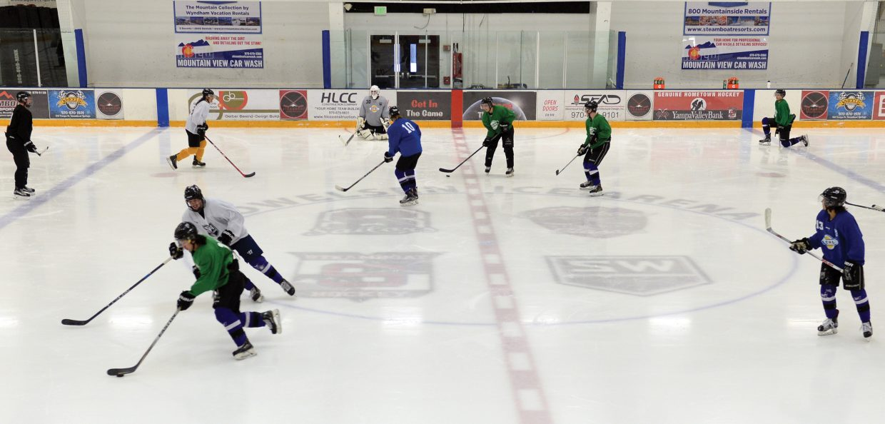 The Wranglers Junior Hockey Team has been a welcome addition to the group of users at Howelsen Hill Ice Area this winter. The Wranglers purchase non primetime ice for practices, but the group also purchases some primetime ice for games, which adds to the pressure on Friday and Saturday nights.