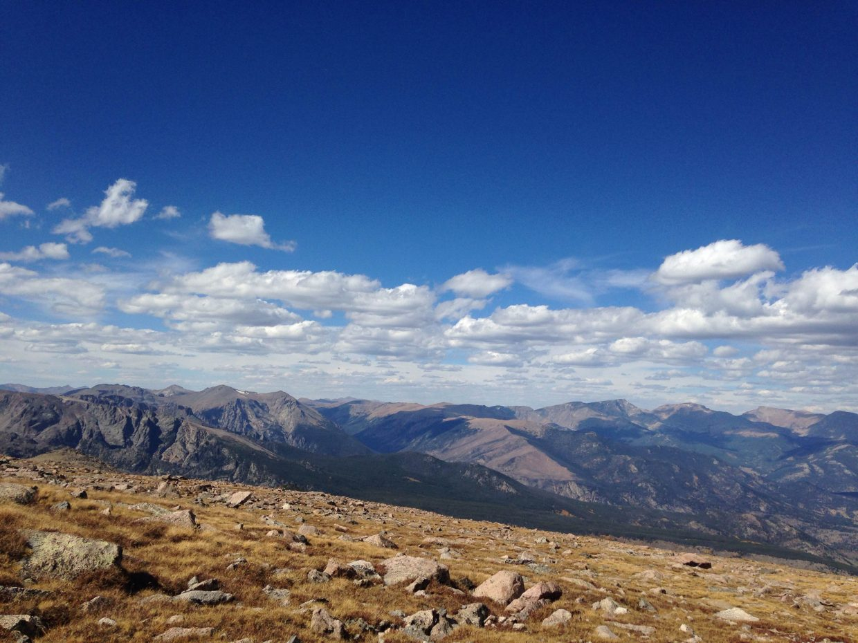 Rocky Mountain National Park, seen here, is among the national parks that will offer free admission April 16 through 24 in commemoration of the National Park Service's 100th anniversary. Other Colorado parks include Dinosaur and Colorado national monuments, Black Canyon of the Gunnison, Mesa Verde National Park, Great Sand Dunes National Park and Florissant Fossil Beds.