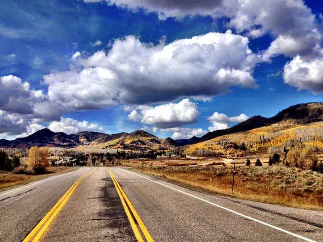 Fall drive through the Hahns Peak area. Submitted by Verleen Tucker.