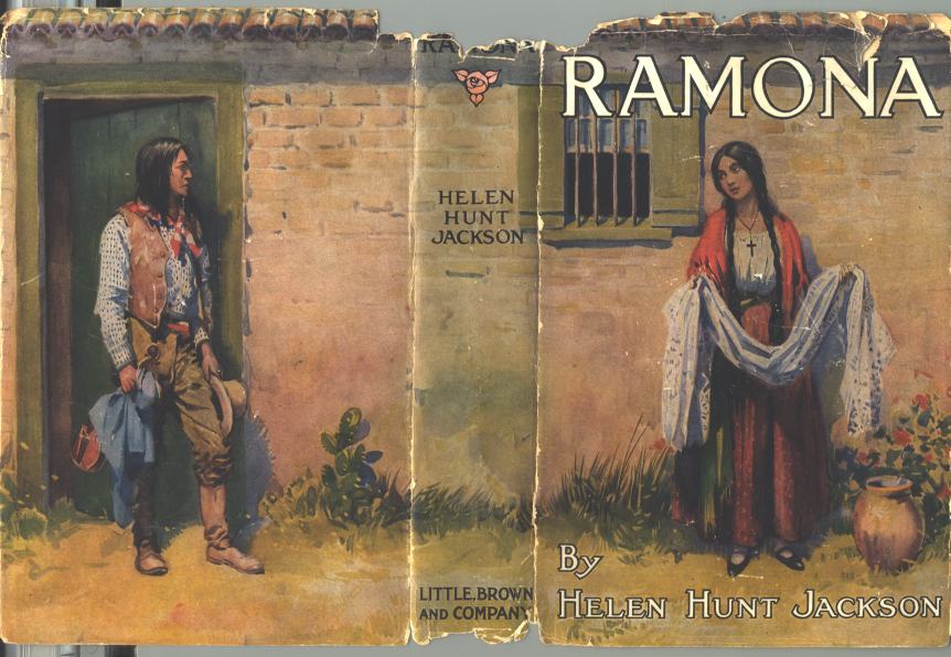 """The 1927 cover edition of """"Ramona"""" shows the main characters, Ramona and Alessandro. This is the book featured for the One Book Steamboat program."""
