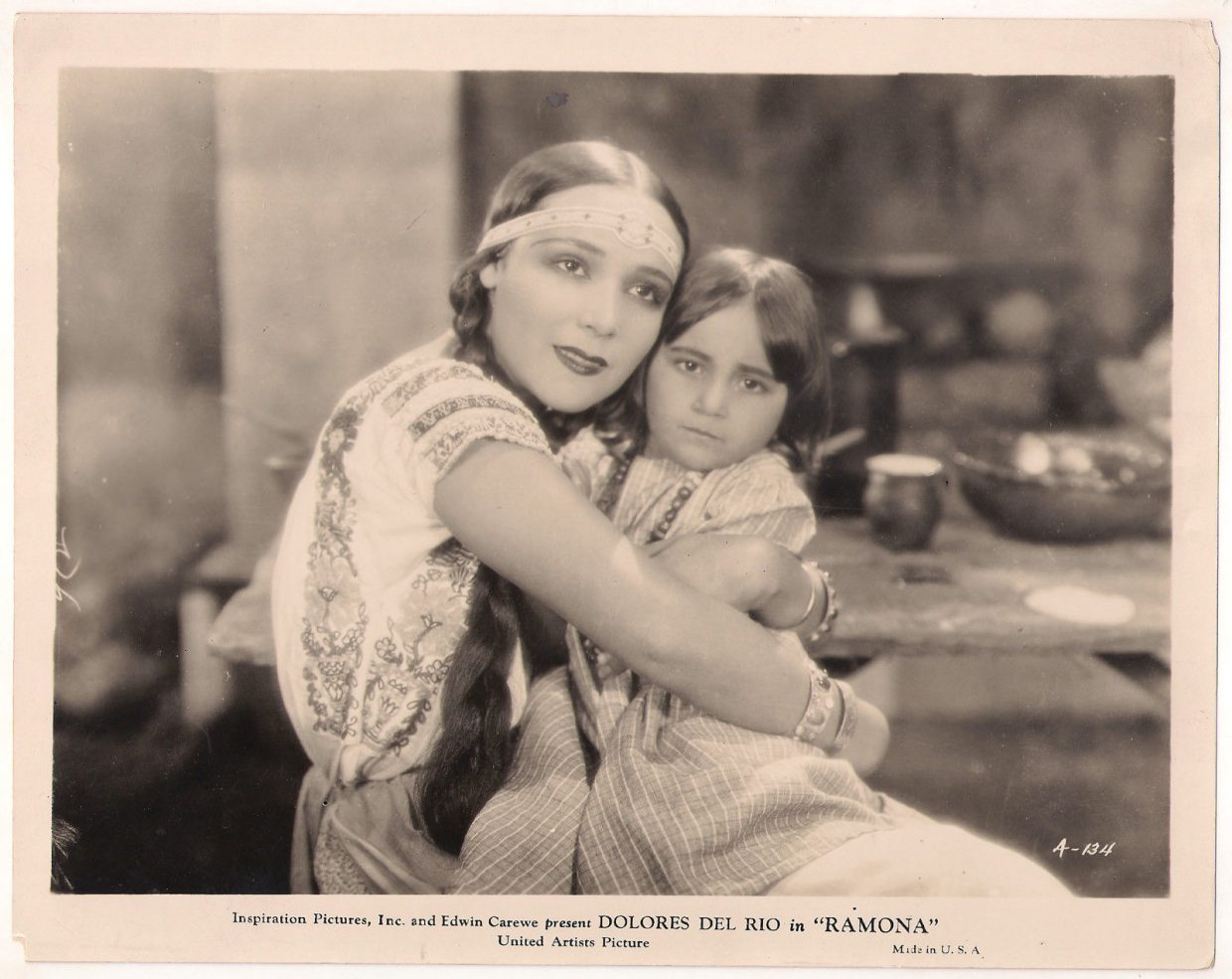 """A picture of Dolores Del Rio, who starred in the 1928 silent film """"Ramona"""" This film will soon be shown at the Bud Werner Memorial Library for the One Book Steamboat program that features the classic novel by Helen Hunt Jackson, """"Ramona."""""""