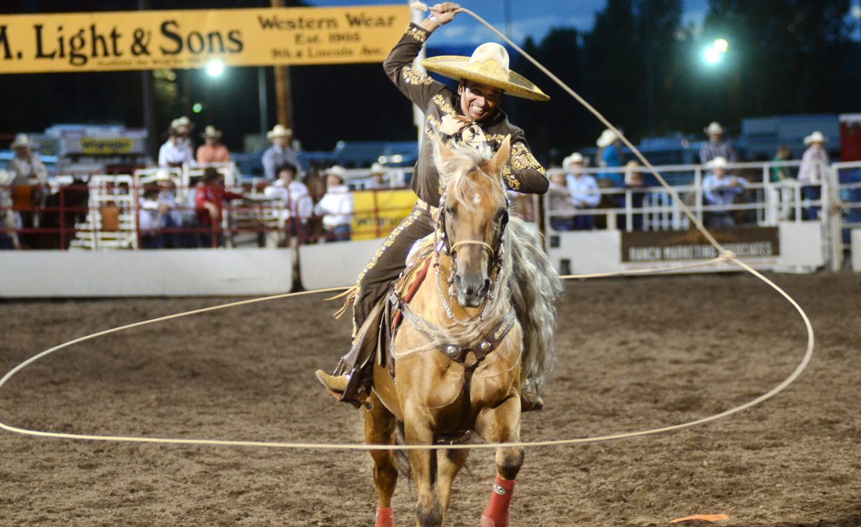 Tomas Garcilazo has been the PRCA Specialty Act of the Year two years in a row for his work in rope artistry and horsemanship. Garcilazo will be performing at the Steamboat Springs Pro Rodeo Series this weekend and next.