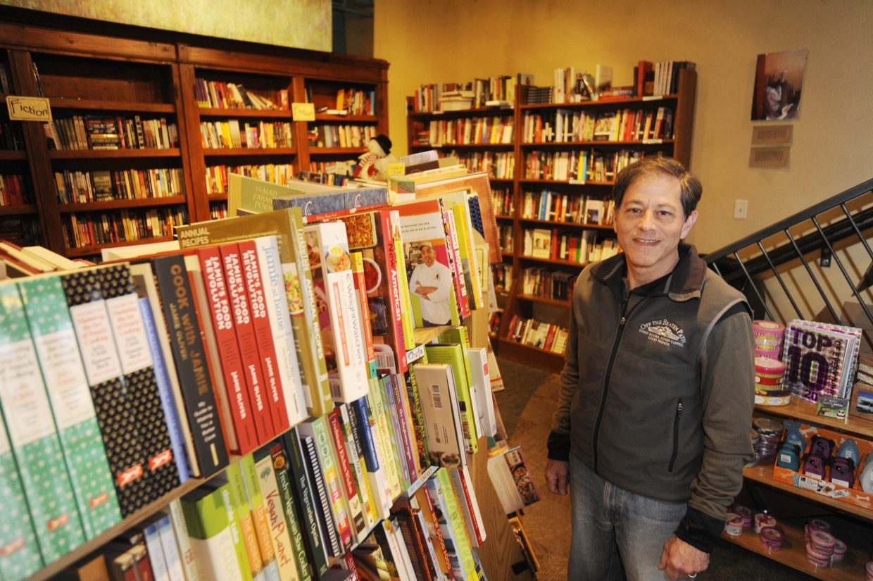 Ron Krall, a retired pharmacologist and owner of Off the Beaten Path bookstore, pictured in 2010.
