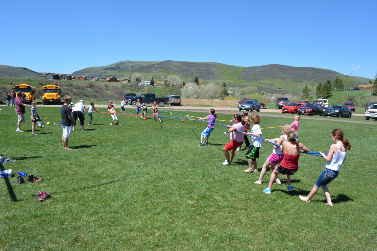 South Routt Elementary Field Day. Submitted by Randy Homan.