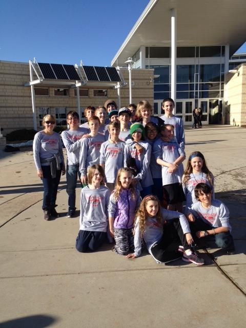 The Steamboat Springs Middle School Science Olympiad team.