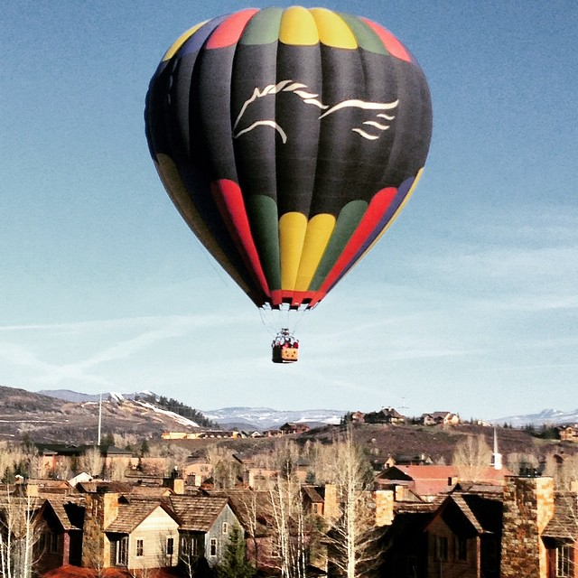 Balloons and sunsets. Perfect Steamboat! Submitted by Kimberly Conrad Saari.