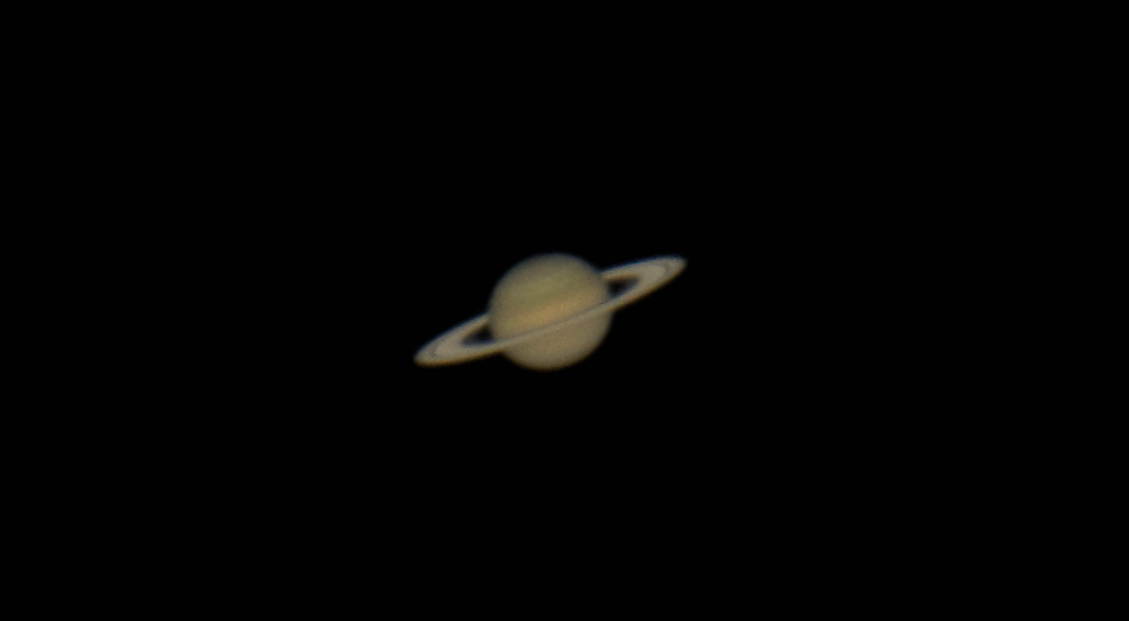 """Saturn offers the biggest """"Wow!"""" moment of them all when seen for the first time through a telescope. Catch the ringed planet at its best when it is closest to the Earth on June 15. Saturn's icy rings are tilted their maximum possible 27 degrees toward Earth this year, gleaming brightly in the sunshine. Any small telescope will show Saturn's rings and its giant moon Titan. This image shows Saturn as seen through the 36-inch telescope at McDonald Observatory near Fort Davis, Texas on April 3, 2011."""
