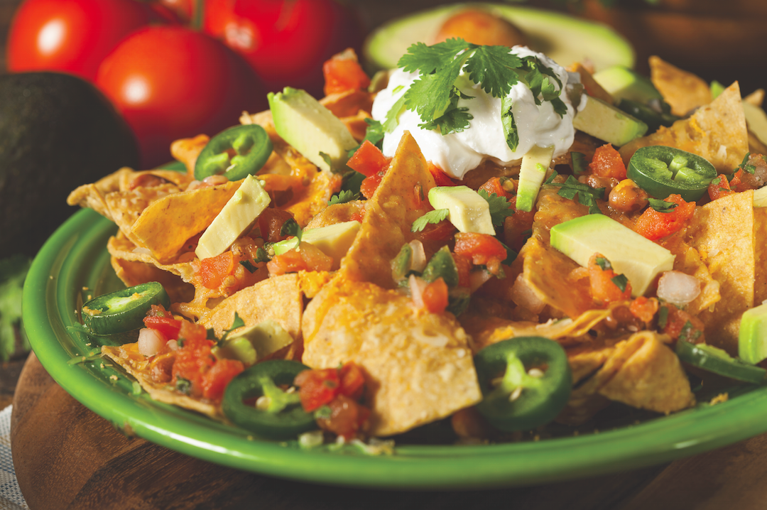 "At Slopeside Grill try one of the many appetizers like this ""Mount Werner-sized plate of nachos."