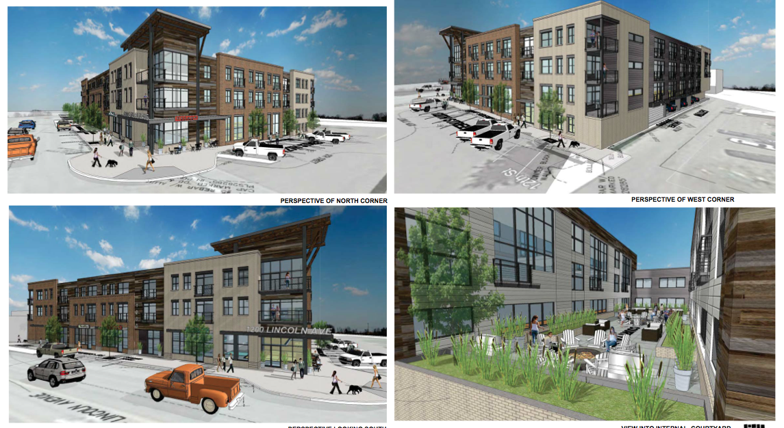Renderings show an updated facade on the apartment building planned for downtown Steamboat Springs.
