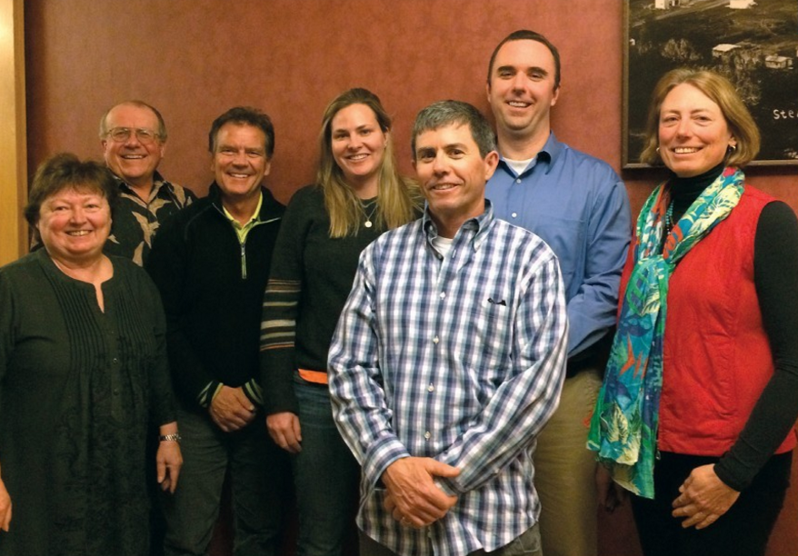 The Steamboat Springs City Council poses for a photo that was included in the city's 2015 annual report.
