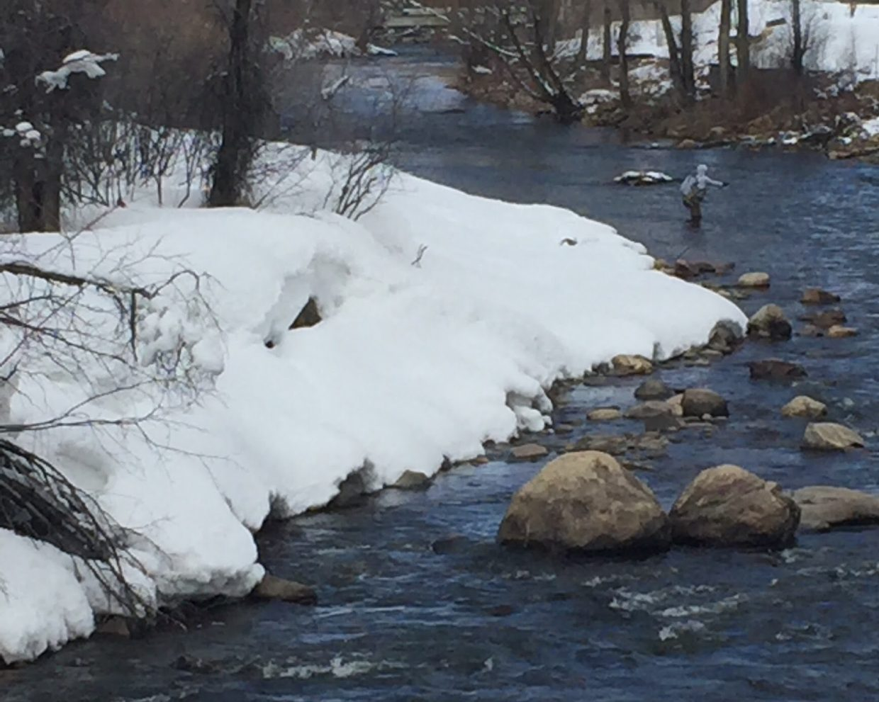 """""""Fishing on the Yampa."""" Submitted by Sheila Phillips."""