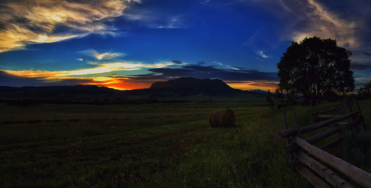 Monday afternoon sunset behind The Sleeping Giant. Submitted by Chris Lanham.