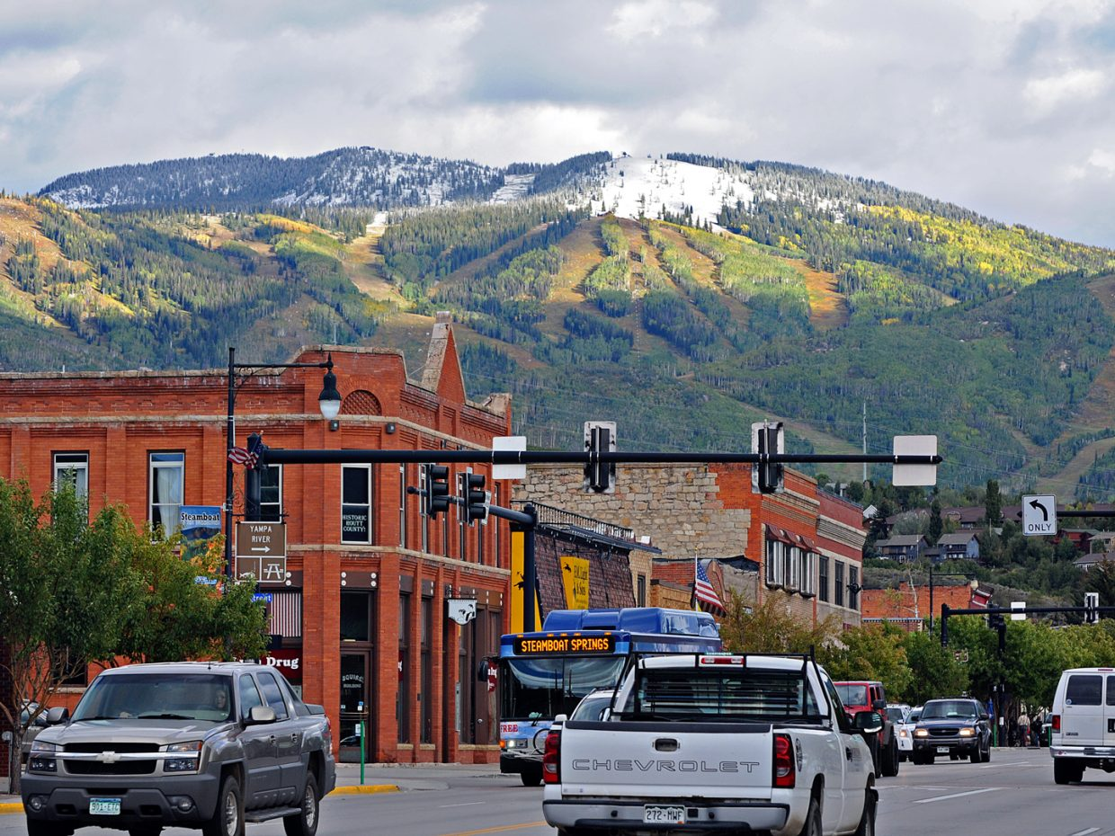 First snow in Steamboat. Submitted by: Jeff Hall