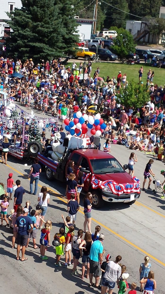 Steamboat's Fourth of July parade. Submitted by Sonia Franzel.