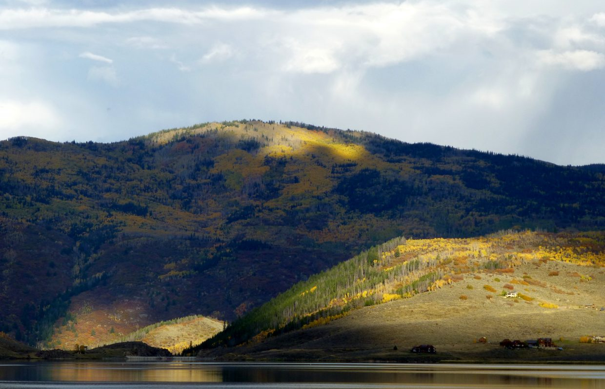 Stagecoach Reservoir on Friday. Submitted by: Gail Hanley