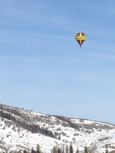 A gorgeous Saturday morning heading out for a day of skiing at Steamboat! Submitted by: Heidi Boettcher