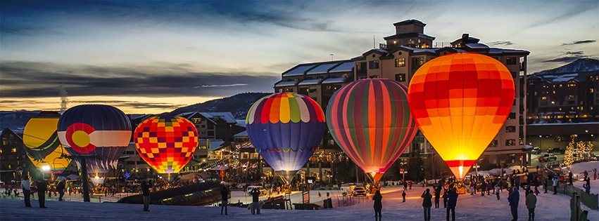 Steamboat Balloon Glow. Photo submitted by: Steve Fortna.