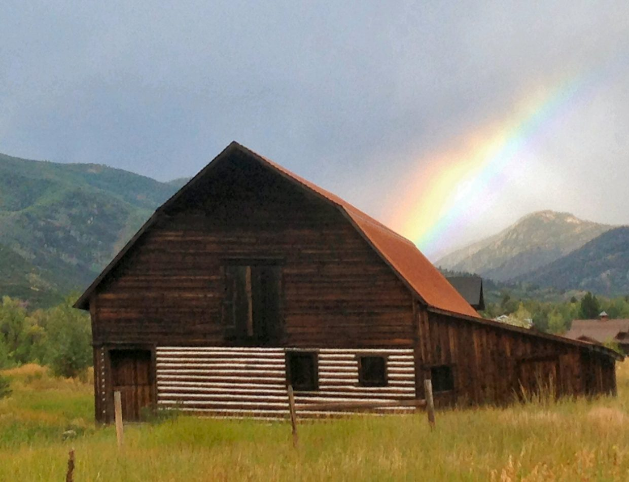 Is there a pot of gold hiding in the Barn? Submitted by Lisa Jacoby.