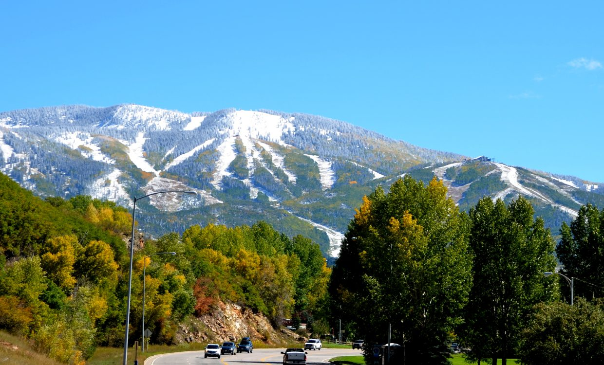 Snow in Steamboat. Submitted by: Shannon Lukens