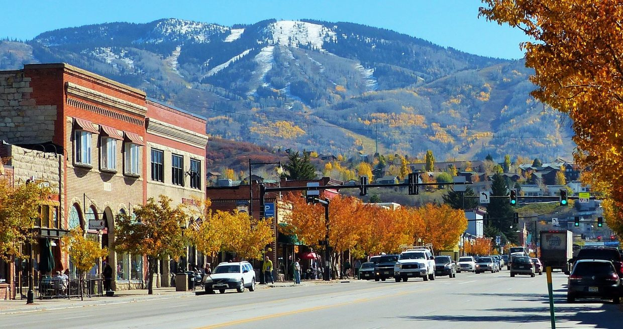 Downtown Steamboat Springs. Submitted by Shannon Lukens.