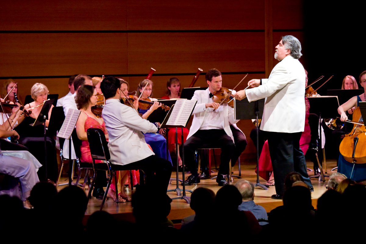 The Strings Festival Orchestra will perform pieces from Mozart and Tchaikovsky for the first half of Saturday night's performance, while the second half features conductor Andrés Cárdenes on solo violin.