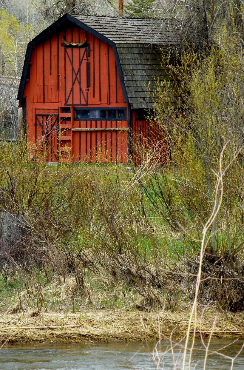 The red barn. Submitted by: Gail Hanley