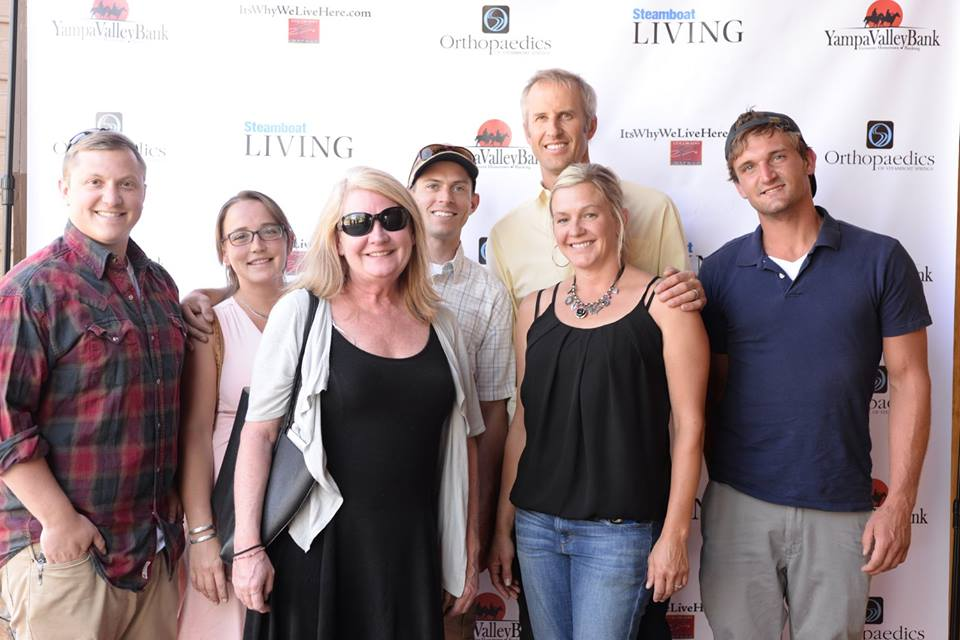 Trent Sandstedt, Erica Thorng, Peg Maxwell, Mike Kozer, Adam Spector, Rudy Spector and John Ludlow of Talon Grips.