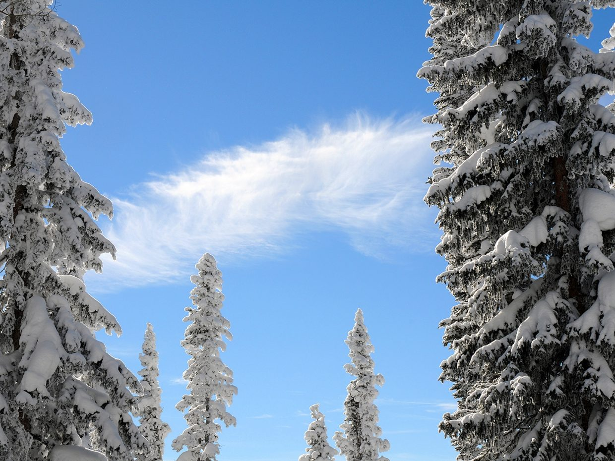 Blue skies in Steamboat  Submitted by Jeff Hall.