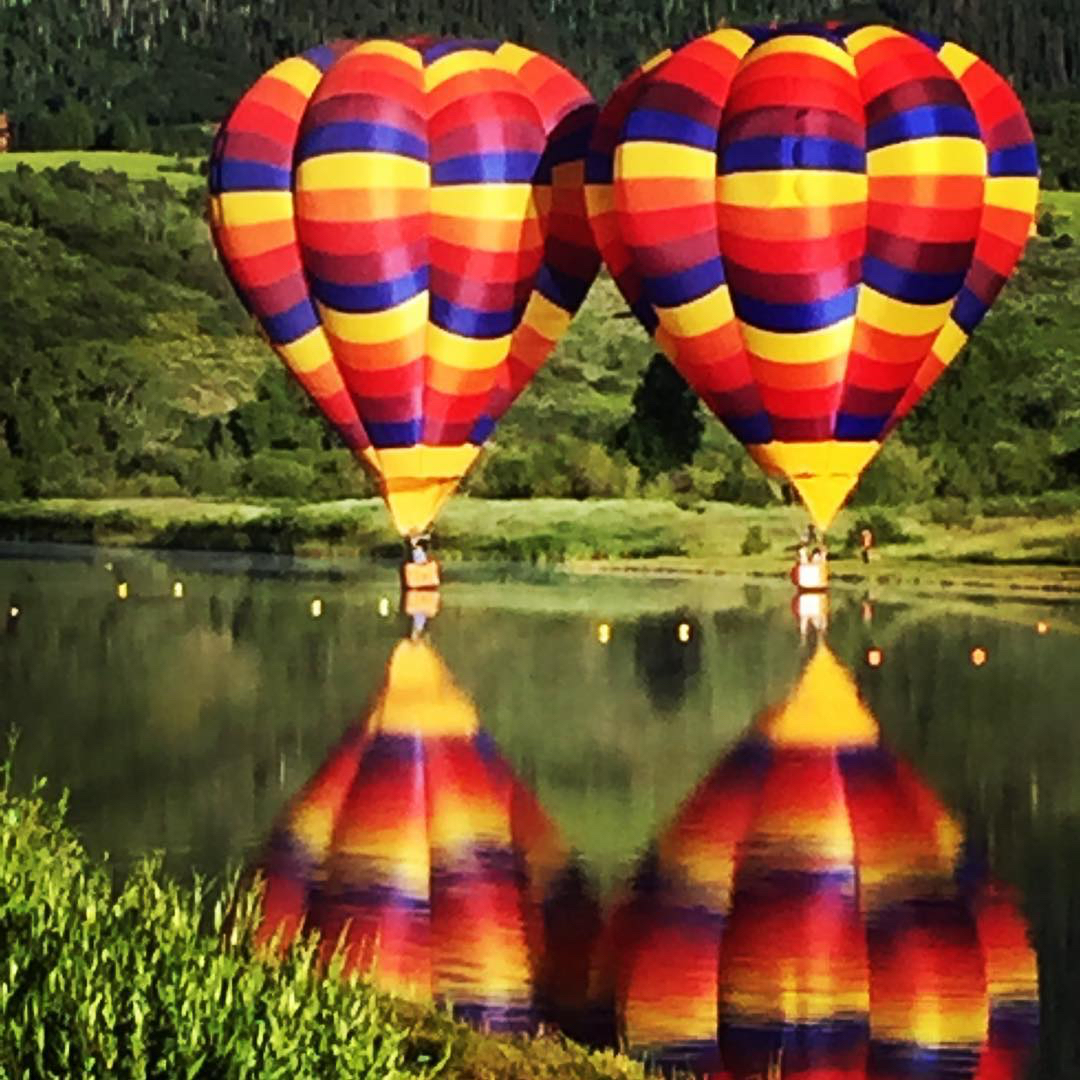 Steamboat Springs Balloon Festival. @chachi101