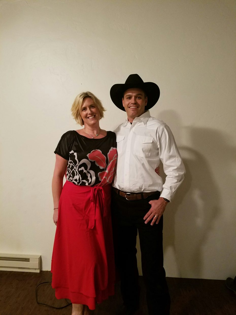 """Steamboat Police Detective Sam Silva and choreographer Andrea Kortas will be one of the pairs competing at Friday night's """"Dancing With the Stars"""" fundraiser."""