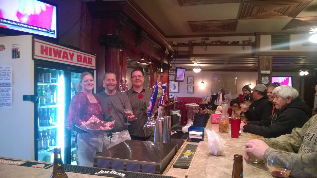 Hayden Chocolate Extravaganza: Hiway Bar chocolate martinis. Submitted by Wendy Lind.