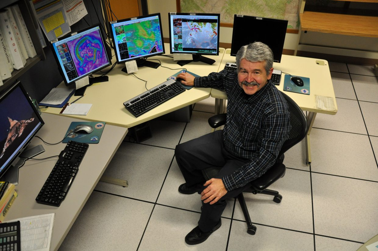 Jim Pringle is proof that weatherman are friendly, likable and approachable. Pringle, who has worked for the National Weather Service for 37 years, enjoys his job as a liaison with the media, emergency managers and the public.