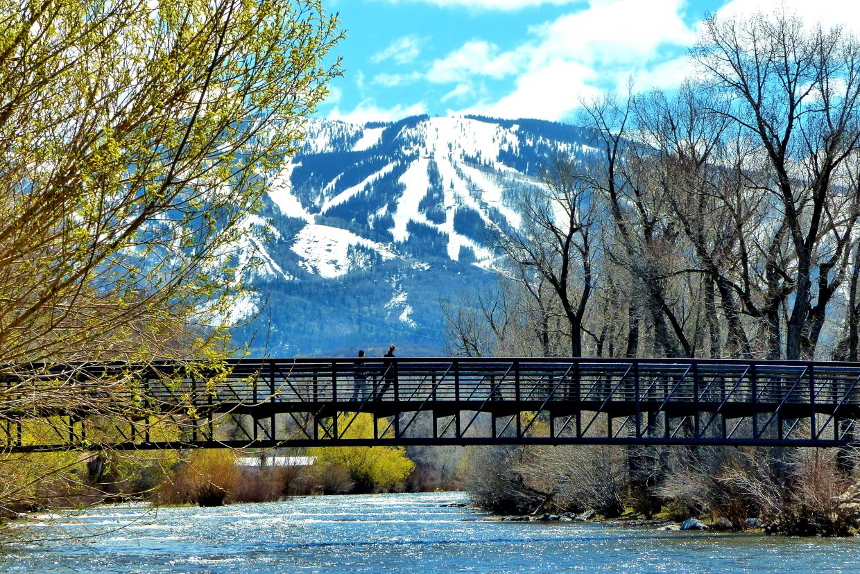 The Yampa River is rising as the mountain is melting. Submitted by Shannon Lukens.