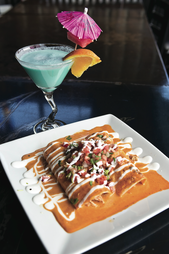 Inspired by his grandmother's cooking and traditional dishes of old Mexico, La Fiesta Grill and Cantina combines old-world flavors as chipotle, cilantro and distinct cheeses, with beautiful presentations and fresh ingredients.