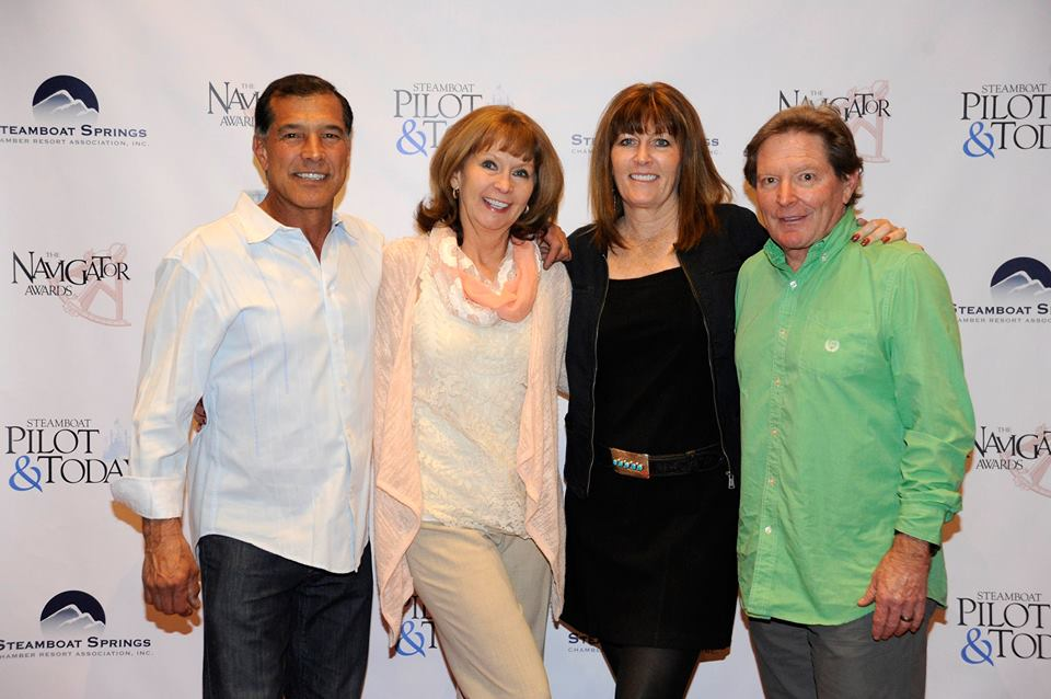John and Debbie Aragon and Tom and Marci Valicenti