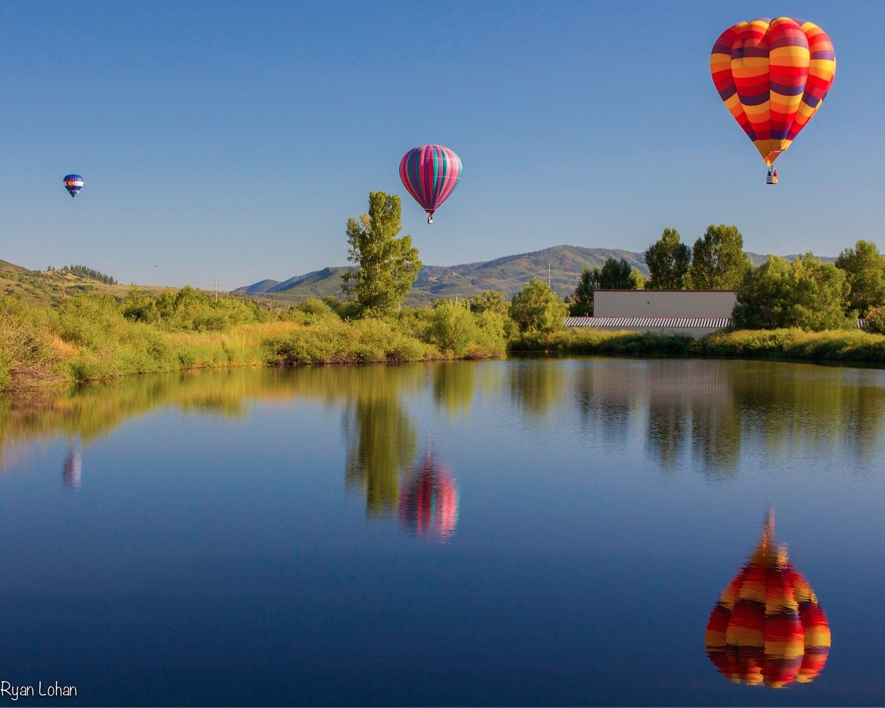 Hot Air Balloon Rodeo. Submitted by Ryan Lohan.