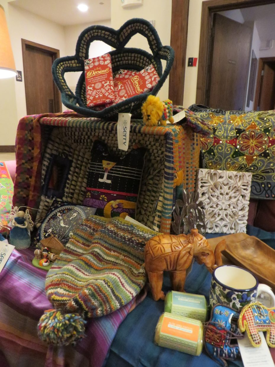 Holy Name Catholic Church in Steamboat Springs holds its annual Work of Human Hands bazaar that benefits international and local communities with handmade or fair trade items.