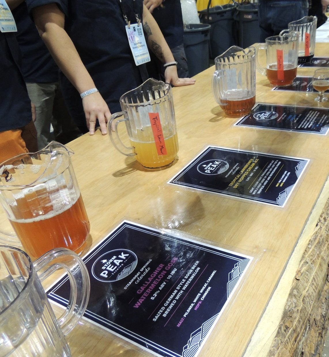 Steamboat Springs' Storm Peak Brewing Co. served up five beers at the Great American Beer Festival.