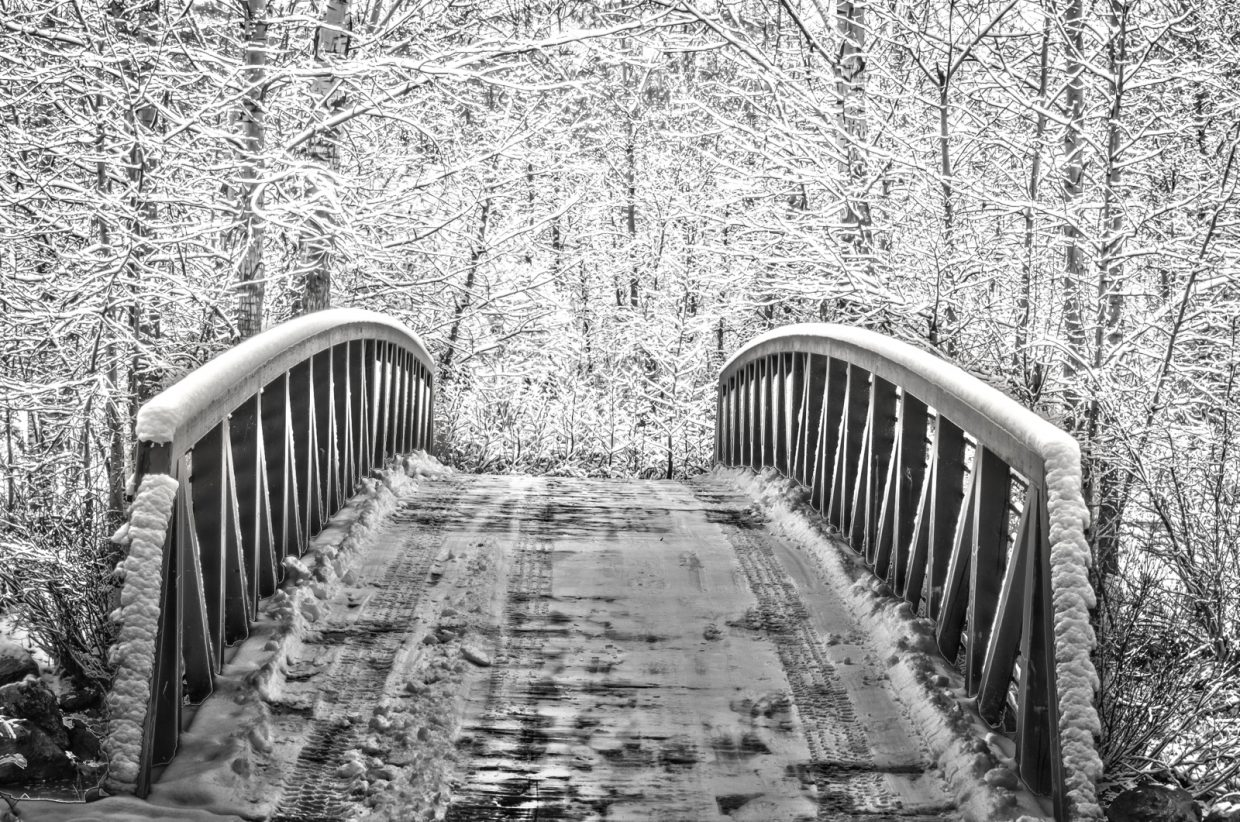 """""""It's time to cross that bridge we've come to... Winter is here."""" Submitted by Zach Shortway."""