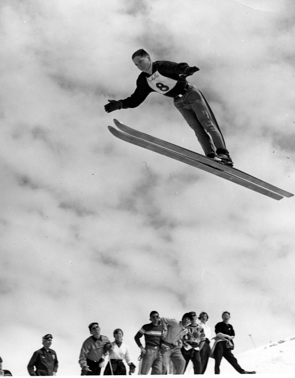 Buddy Werner was an excellent jumper, but his legacy would be as a racer. (Tread of the Pioneers Museum/courtesy)