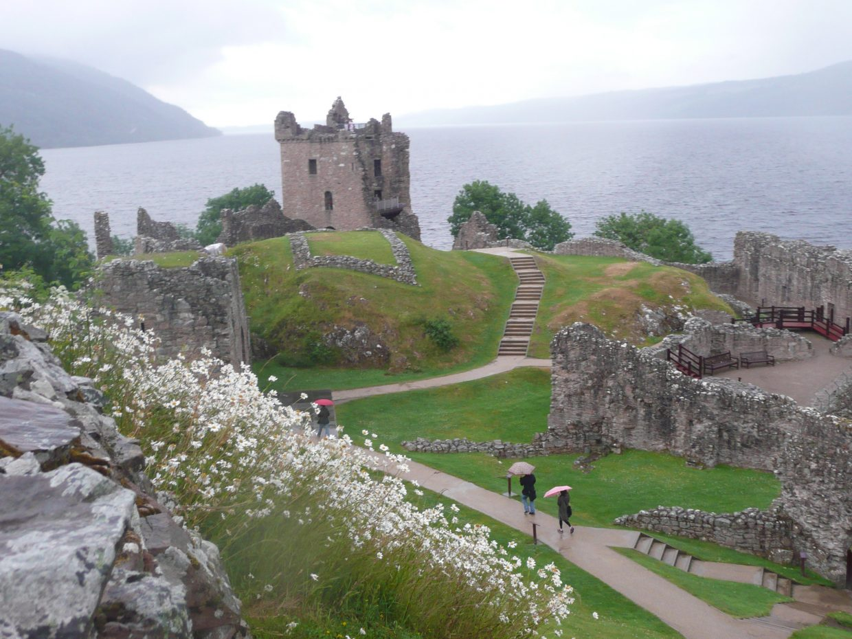 A picture from a trip to Scotland by Suzi Mitchell for her blog post about the end of summer and beginning signs of fall.